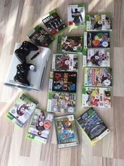 Xbox 360 mit vielen Spielen