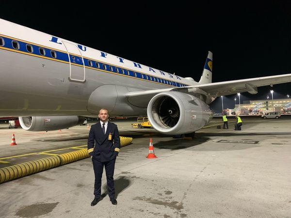 Lufthansa Pilot in Festanstellung sucht
