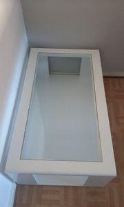 Glastisch weiß