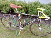 LOOK-Rennrad 51er Kohle-Kevlar-Rahmen