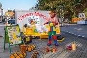 Clown Marco für Groß und