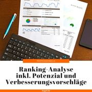 Ranking-Analyse inkl Potenzial und Verbesserungsvorschläge