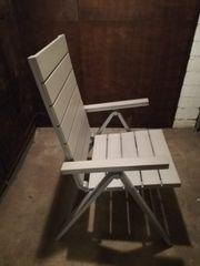 2x Gartenstühle aus Holz - Neuzustand