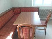 Eckbank Tisch und Stühle