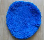 WC-Deckelbezug blau Standartmaße 50 47