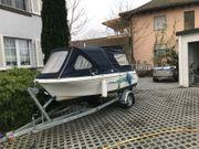 Angelboot Quicksilver 435 Motor aussenborder