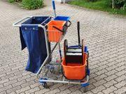Komplett Set Putz-Reinigungswagen von Meiko