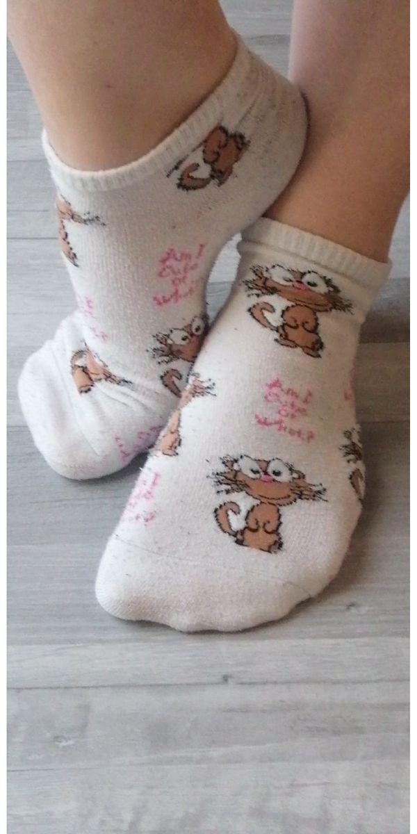 Getragene Socken Schuhen