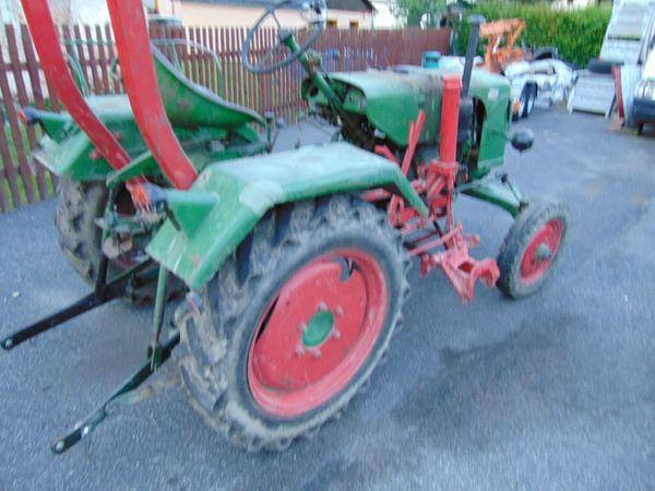 Traktor Oldtimer Güldner Bj 57