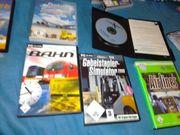 verschiedene PC-Spiele Simulator