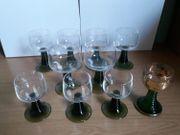 10 Weingläser verschiedene Größen