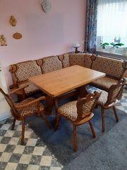 Eckbank Tisch und 3 Stühle