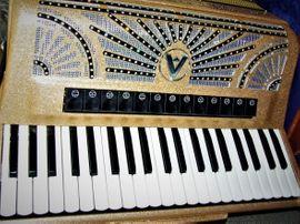 Tasteninstrumente - Akkordeon Accordiola Piano V Italia