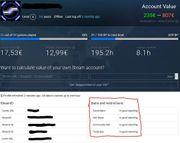 Deutscher Steam Account zu verkaufen