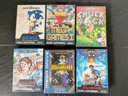 Sega Megadrive Spiele Master System