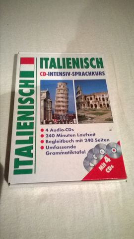 Italienisch Sprachkurs CD Box zu: Kleinanzeigen aus Obersulm - Rubrik Schulungen, Kurse, gewerblich