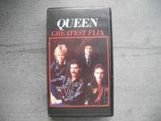 VHS Videokassette QUEEN Greatest Flix