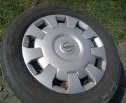 Opel Stahlfelgen mit Radzierblenden