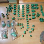 Sortiment von Aquatherm Fusiotherm grün
