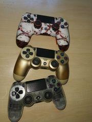 3 PS4 Controller davon 1