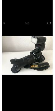 Nikon D3100 Fotoausrüstung