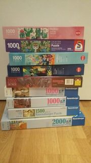 Puzzle 1000 oder 2000 Teile
