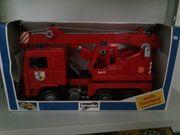 Bruder Feuerwehrkran