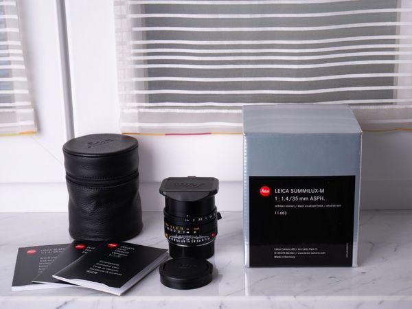 Leica Summilux-M 35mm 1 4