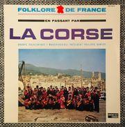 Schallplatte französische Folklore