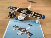 Playmobil 4445 Polizei-Wasserflugzeug - schwimmt auf