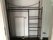 Garderobe aus Eisen Schwarz