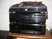 Pioneer Anlage bestehend aus Plattenspieler-Cassettenspieler-Videogerät