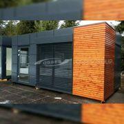 Container Bürocontainer Gartenhaus Wohnung Pavillon