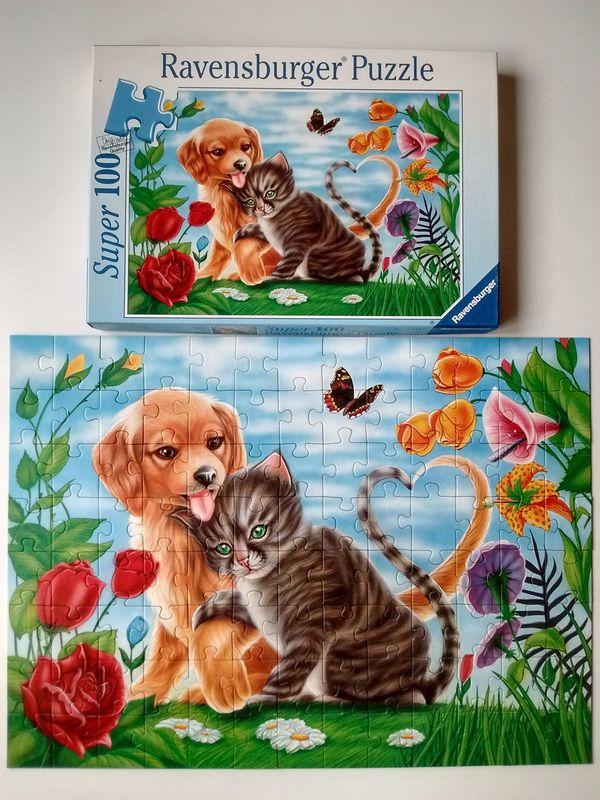 Ravensburger Puzzle Romanze Hund und