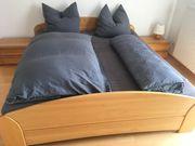 Doppelbett Massivholz Erle