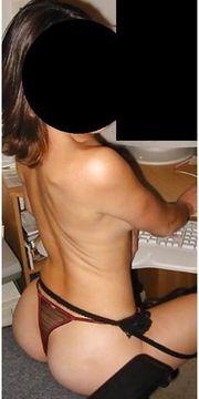 Massage von reifer Frau