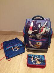 Schultasche Flugzeug-- für Volksschule