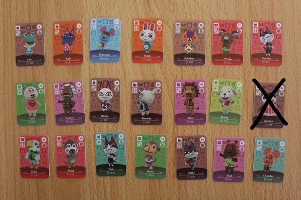 Animal Crossing Amiibo Karten