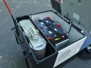 RCM Slalom Bat Kehrmaschine Aufsitzkehrmaschine