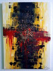 Abstrakt Acryl Bild