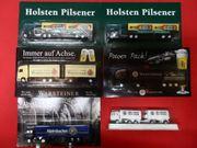 Reklame LKW Werbetruck Holsten Warsteiner