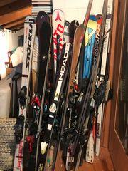 Ski und Skischuhe zu verkaufen