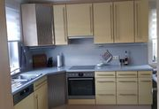Einbauküche gelb-grau Wellmann