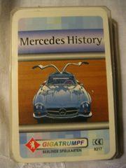 Kartenspiel Mercedes History Quartette von