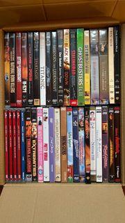 DVD-Sammlung 40 Stück 2 Boxen