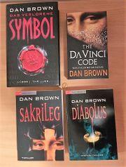 4 Bücher von Dan Brown
