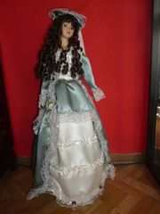 Puppe Porzellan
