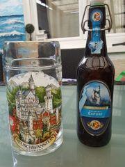 1l Bierglas Schloß Neuschwanstein passendes