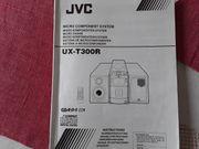 Reparaturbed JVC Anlage mit Fernbed
