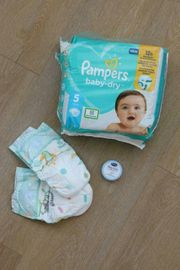 Pampers baby dry Windeln Gr